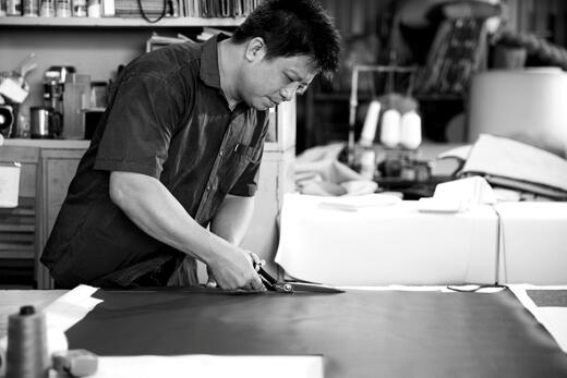 采邑傢俱沙發製作流程-剪裁