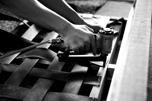 采邑傢俱沙發製作流程-骨架