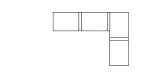 4個單人沙發的排列