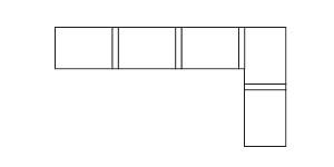 5個單人沙發的排列