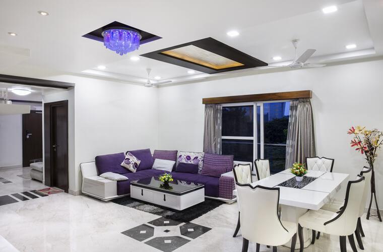 轉角沙發擺放具有可移動、變更性,可以根據實際需要更換布局,讓客廳永遠充滿新鮮感