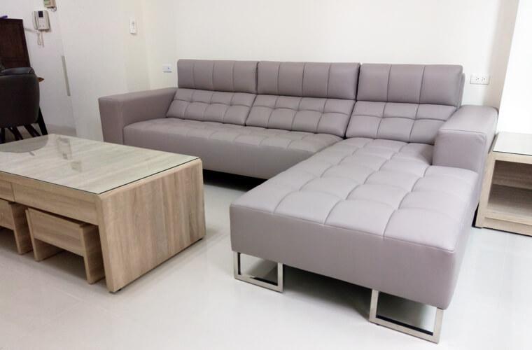 【牛皮L型沙發訂做】員林張公館 - 05