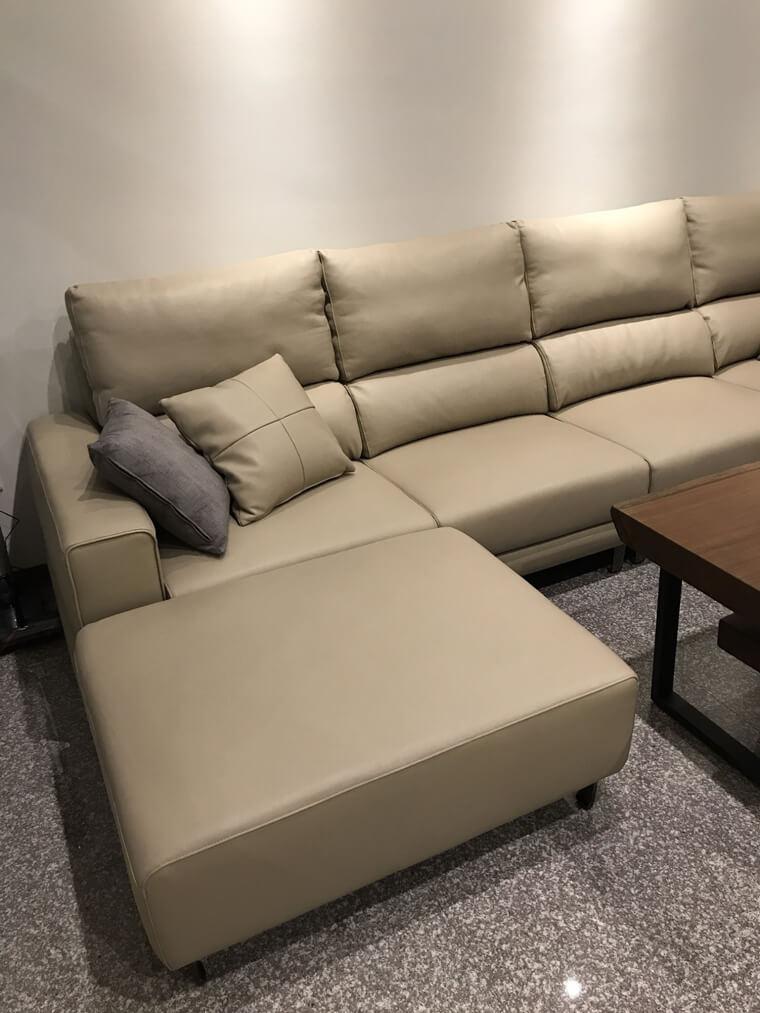 【加大五人座L型沙發訂做】清水區林宅 - 03
