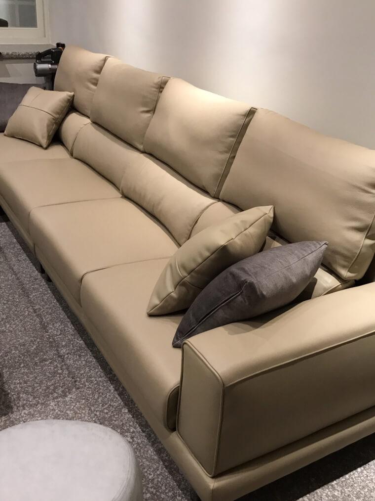 【加大五人座L型沙發訂做】清水區林宅  - 04