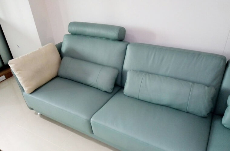 【加大五人座L型沙發訂做】清水區林宅 - 05