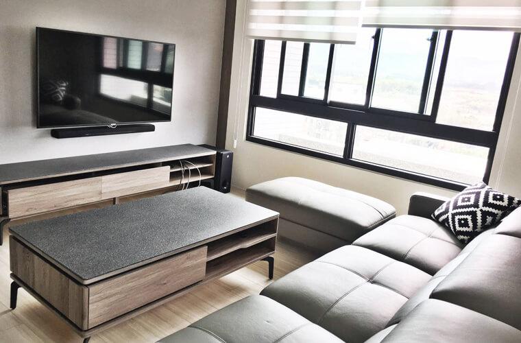 威力森牛皮沙發屬於功能型L型沙發