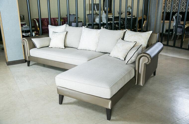 巴洛克L型沙發 - 02
