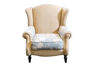 威廉美式單人沙發
