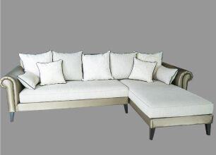 巴洛克L型沙發