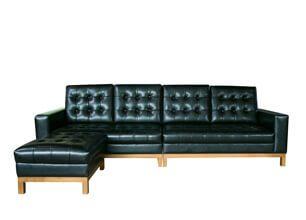 工業風L型沙發