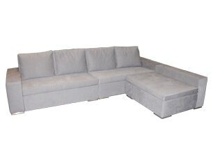 極簡風L型沙發