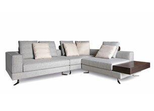 WHITE L型沙發